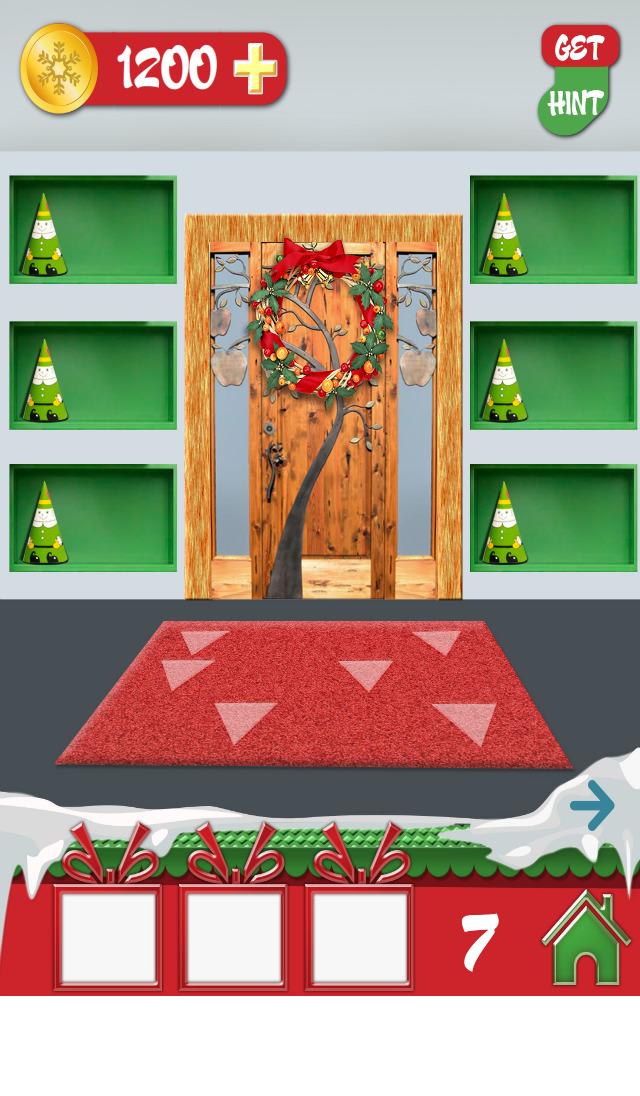 app shopper 100 doors holiday hd games. Black Bedroom Furniture Sets. Home Design Ideas