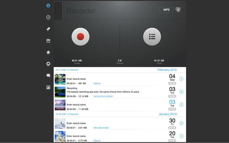Mp3-Recorder Screenshot - 1