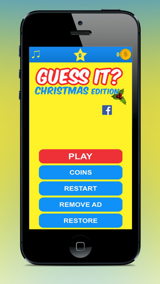Christmas Picture Game - fun for the festive days