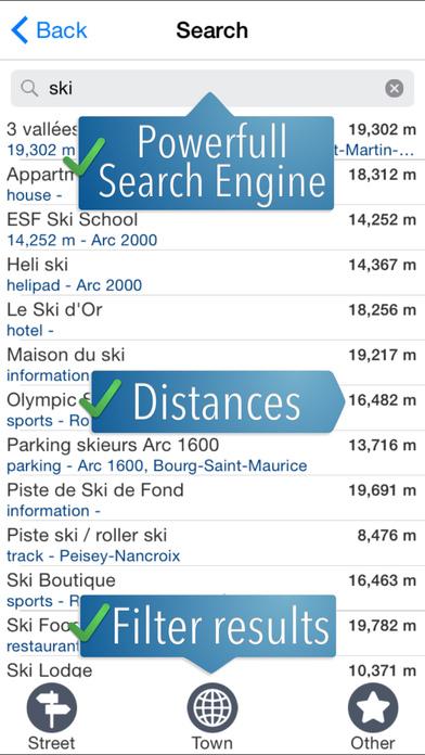 Screenshot for Paradiski Ski Map in Lebanon App Store