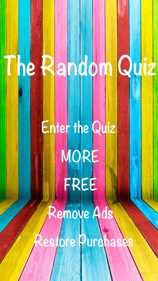 Random Quiz - Unveil your most random personality traits