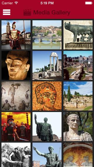 Britannica Kids: Ancient Rome iPhone Screenshot 2