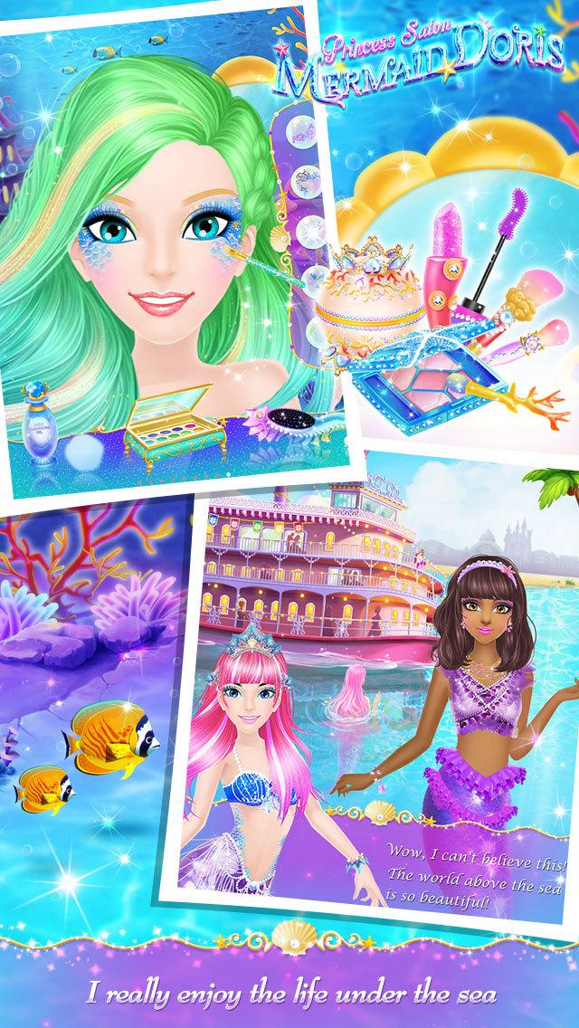 Princess Salon: Mermaid Doris  Screenshot