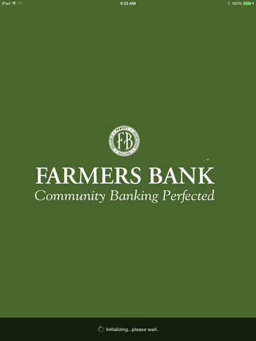 FarmersBank Mobile for iPad