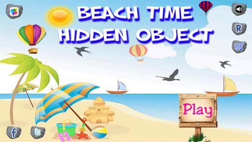 Beach Time Hidden Object