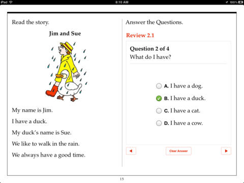 Kindergarten Reading Comprehension by Aaron Levy on iBooks