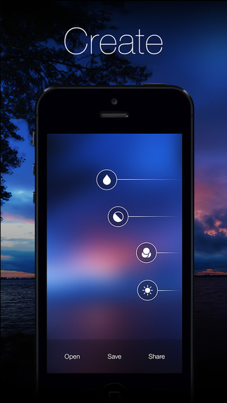 《壁纸加工 模糊工厂:Blurify - Create custom blurred iOS 7 style background [iOS]》