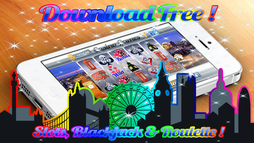 ```` 777 ```` Aabsolutely London Jackpot Slots Roulette Blackjack Money Casino Chip$