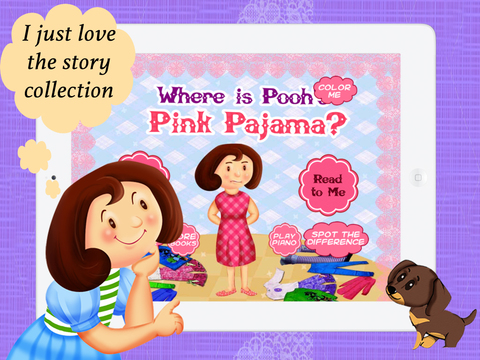 Where is Pooh's Pink Pajama for Children by Story Time for Kids
