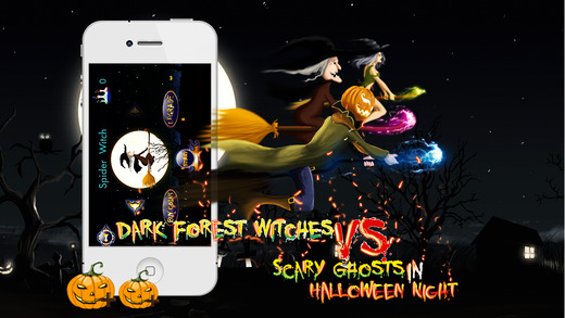 Dark Forest : Witches vs. Scary Ghosts