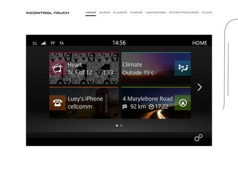 Jaguar InControl Touch Tour
