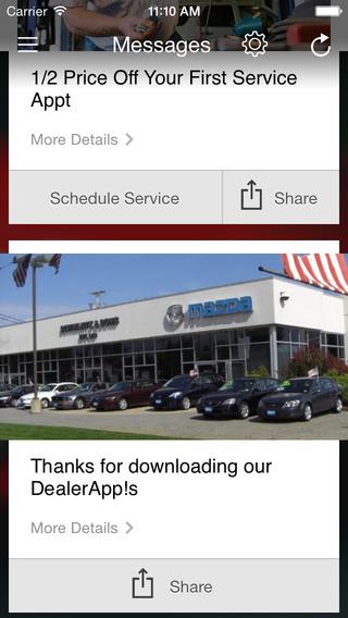 Schwartz Mazda iPhone Screenshot 3