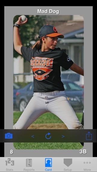 StatCatcher™ Baseball (Player Edition) iPhone Screenshot 4