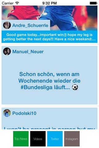 Fussball Deutschland Live - Bundesliga Spiele, Ergebnisse, Rangliste, Nachrichten, TV screenshot 1