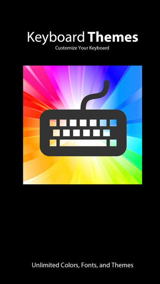 Keyboard Themes: Custom colors cool fonts and personalize new backgrounds for iPhone iPad iPod