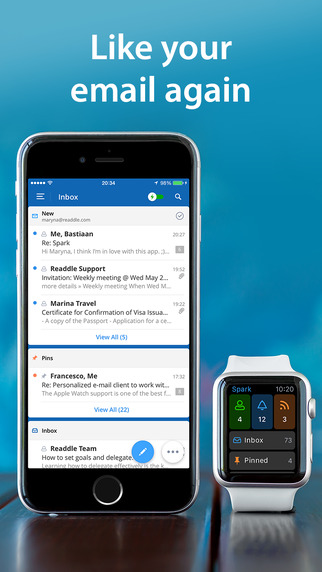 Spark - fast and smart email for your iPhone