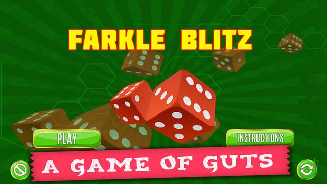 Farkle Blitz PRO - Vintage Dice Game 10000