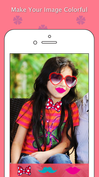 Photo Collage Girls Dress Up Booth: Beautiful Effects Stickers for Women Style