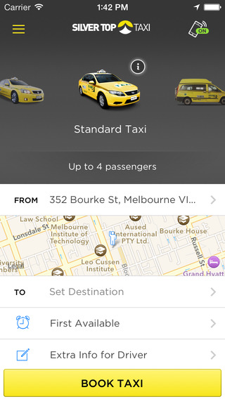 Silver Top Taxi