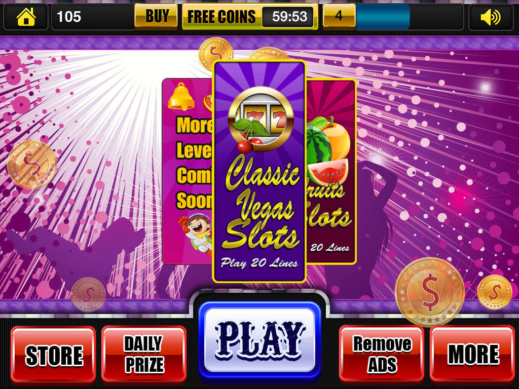 classic slots on big fish casino