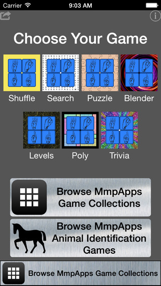 ASL Word Puzzle Collection