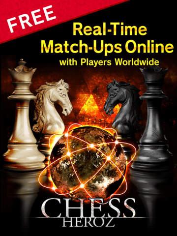 CHESS HEROZ -online chess board games Скриншоты7