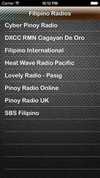 Filipino Radios of Philippines