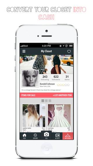 Grand Circle - Shop Swap Sell and Buy Fashion Clothing Dresses Handbags and Shoes