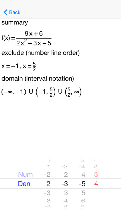 AFuncDomain Function Domains iPhone Screenshot 4