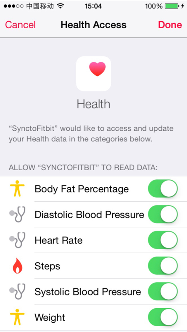how to use fitbit app on iphone