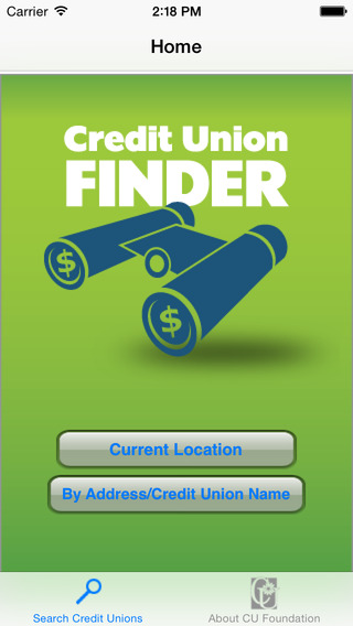 Credit Union Finder iPhone Screenshot 3