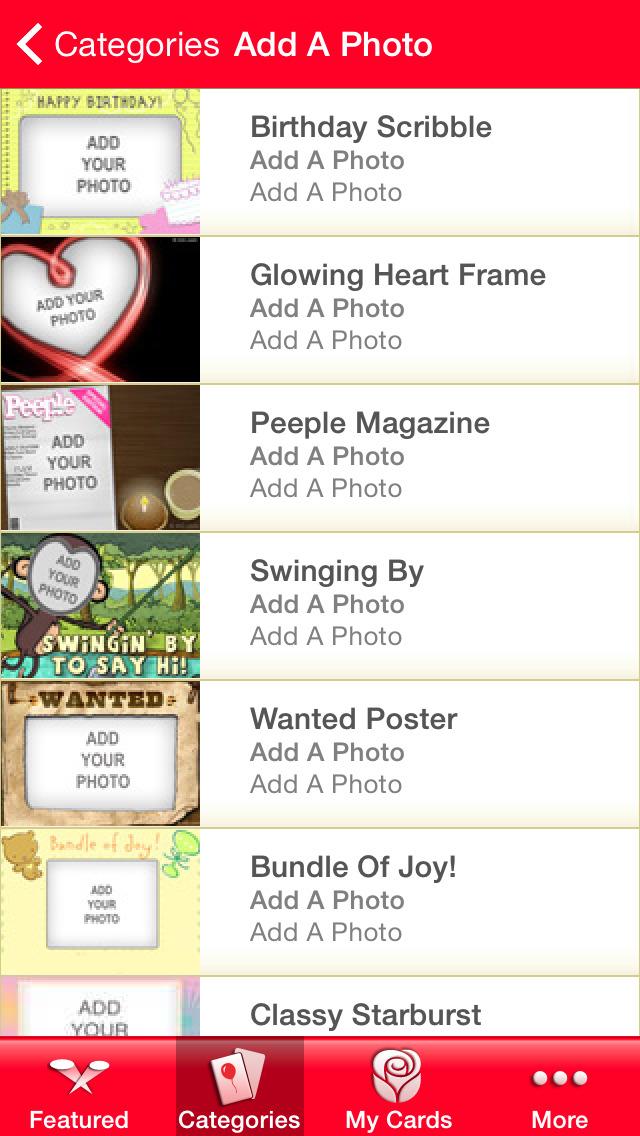 American greetings ecards apprecs american greetings ecards screenshot m4hsunfo