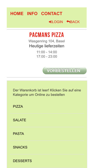 Pacmans Pizza