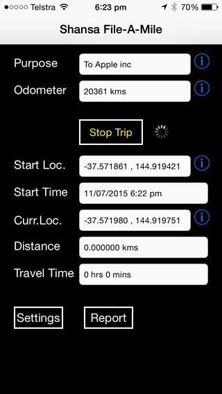 Shansa File-A-Mile iPhone Screenshot 1