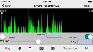 Smart Recorder DE Lite screenshot 4