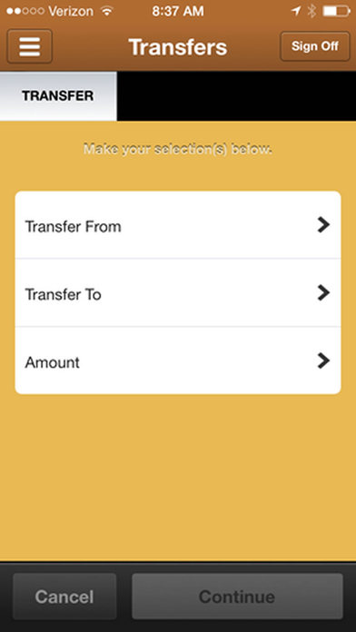 Traditions Bank Mobile Banking iPhone Screenshot 3