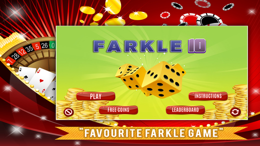 Farkle Ten FREE - Classic Dice Game