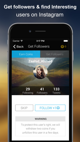 Followers + for Instagram - Get Followers and Follow Management Tool Screenshots