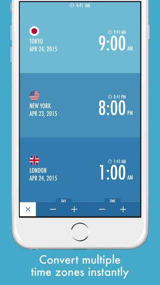 Timelet - World Clock and Time Zone Converter