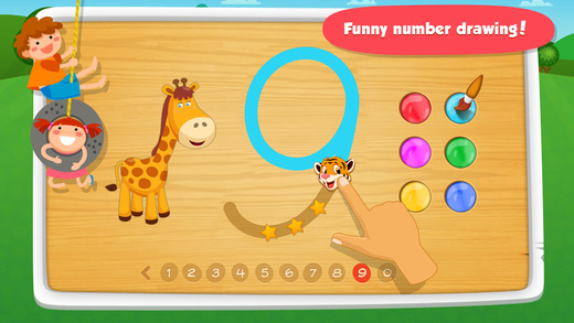 iphone screenshot 1 - Drawing Games For Toddlers