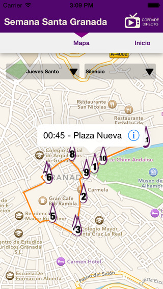 Cofrade Directo - Semana Santa Granada 2015