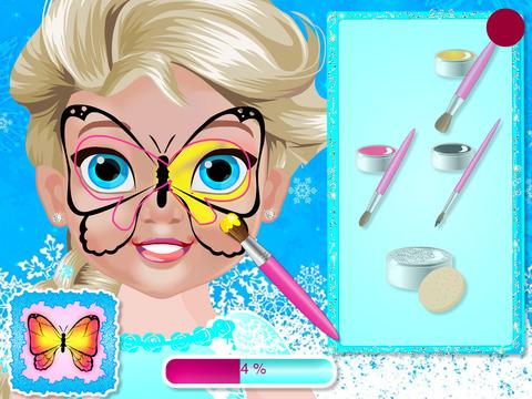 玩免費遊戲APP|下載Baby Polly Butterfly Face Art app不用錢|硬是要APP