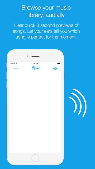 Flow Music : Audial Browsing