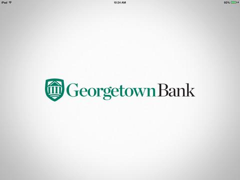 Georgetown Bank Mobile Tablet