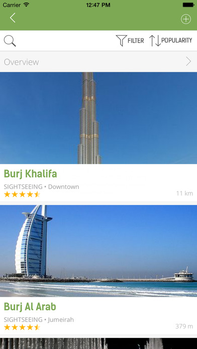 Dubai Travel Guide - mTrip iPhone Screenshot 4