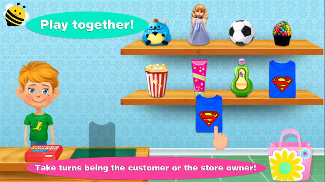 My Store - GBP coins £ learning game for kids