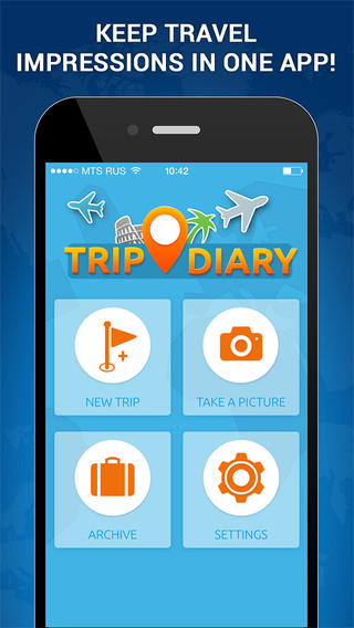 Trip Diary - Save Impressions