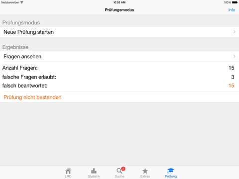 Funkschein LRC iPad Screenshot 5