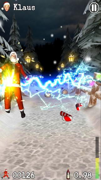 Drunken Santa Klaus iPhone Screenshot 4