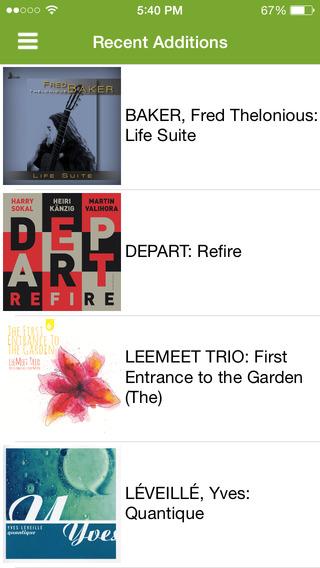 NML Jazz iPhone Screenshot 2